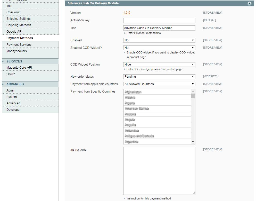 ZIP Code Based Cash on Delivery Magento Extension - SetuBridge
