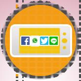 Mobile Social Sharebar
