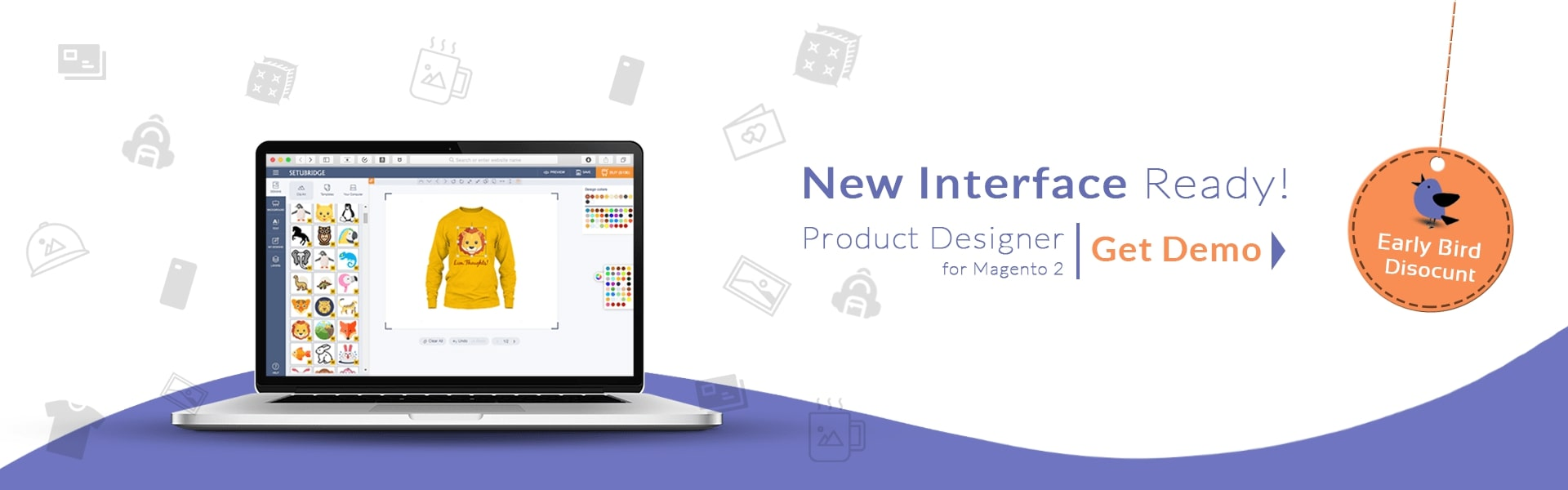 Product Designer Magento 2 Extension